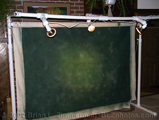 Studio Lighting - Home Made Cheap DIY Backdrop Stand- fixure