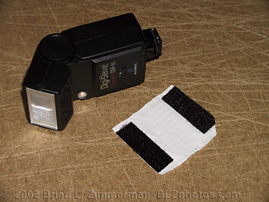 DIY Homemade Flash Diffuser #1