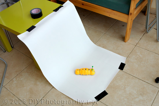 Really cheap homemade diy studio - no lighting needed #3