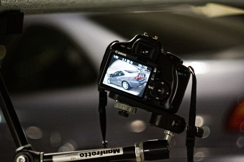 camera rig for car photography