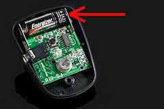GI Trigger Transmitter Battery (by udijw)