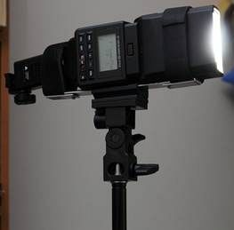 Get Your Flash 100% On Axis With Umbrella