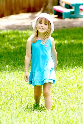 Cassie Walking In Sunshine