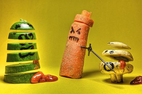 Food Fight (by Scerakor)