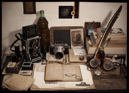 The Photographer's Desk (by DeyanStefanov)