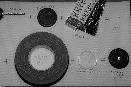 1 Photo How-To: Pinhole Lens (by josh_in_yyc)