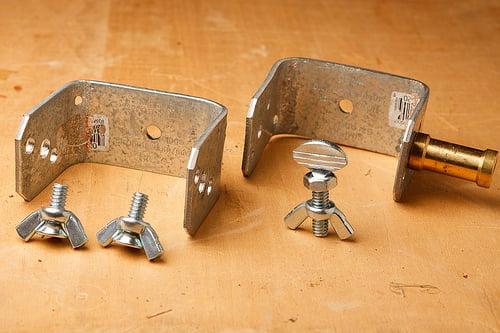 umbrella/ soft box bracket DIY - 2
