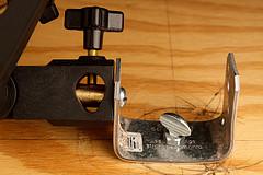 umbrella/ soft box bracket DIY - 5