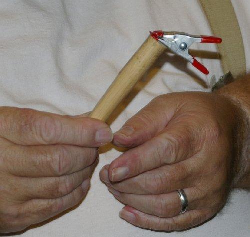 A DIY Clip Gel Holder