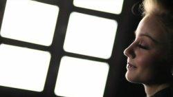 Huge iPad Arrays Used As Portrait Lights