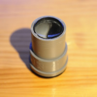Manual Lens From PVC Pipes