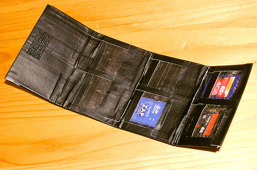 DIY SD card holder (open)