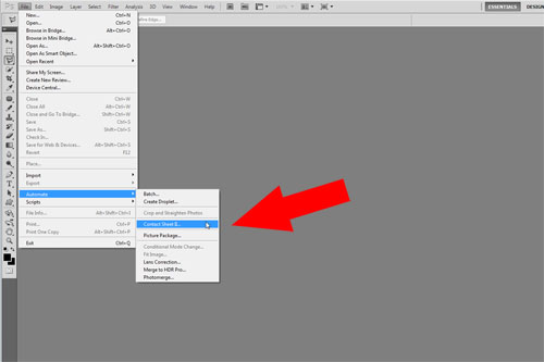Quick Tip: Creating A contact sheet With Photoshop CS5