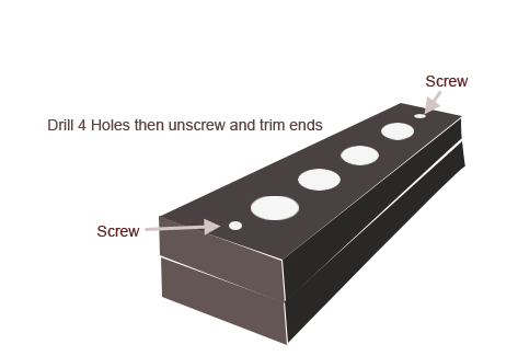 Convert an Ikea Cutting Board to a Shoulder Video Rig
