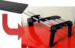 Convert a $7 Ikea Cutting Board to a Shoulder Video Rig