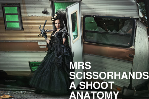 Mrs Scissorhands - Q&A Benjamin Von Wong