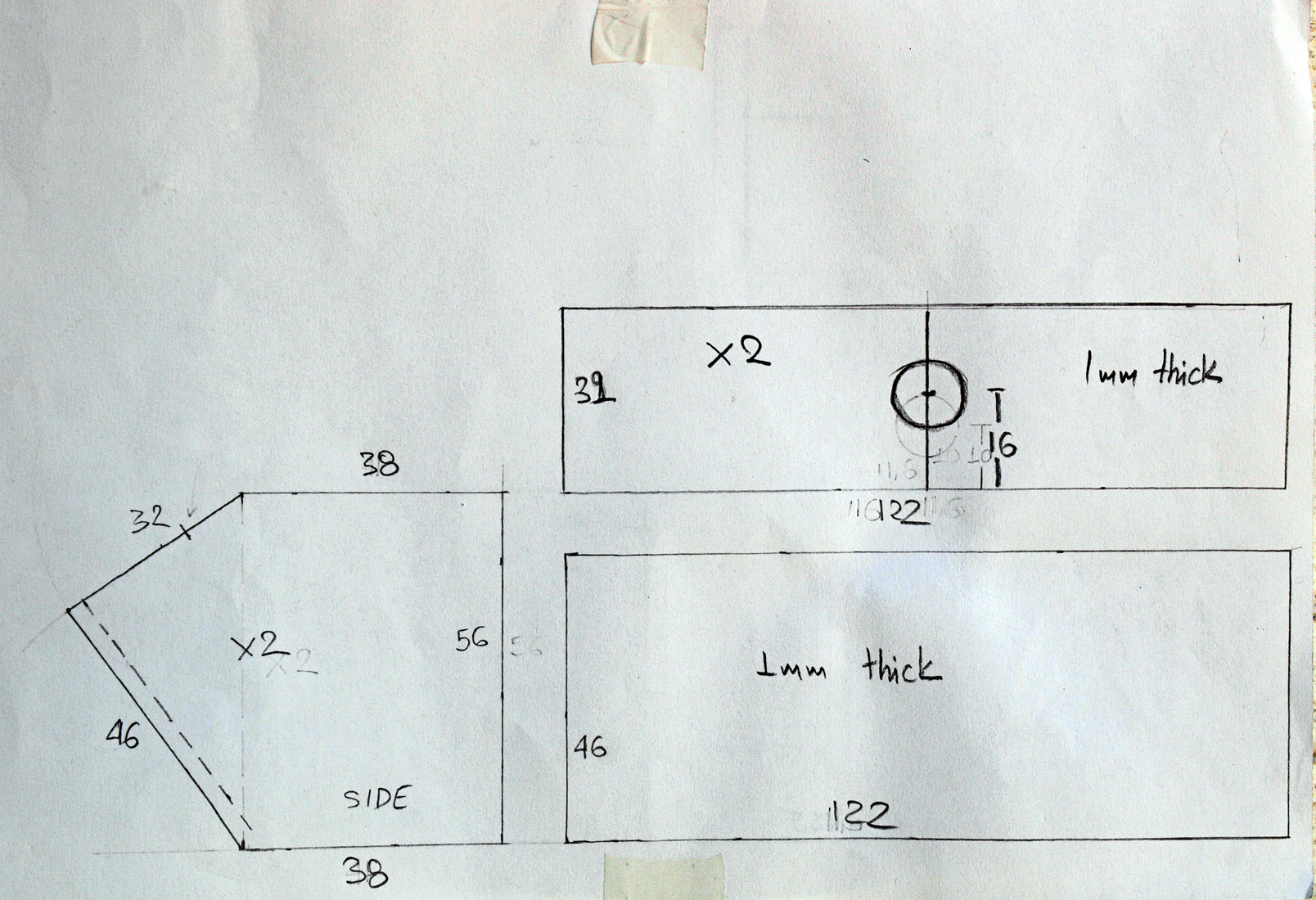 Build A Semi Anamorphic 35mm Pinhole Camera Diy Photography Diagram