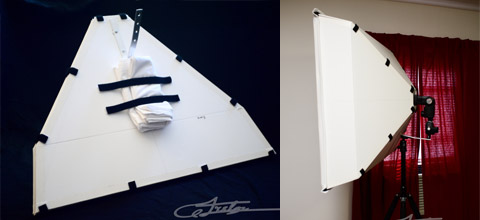 "30"" DIY Collapsable Softbox"
