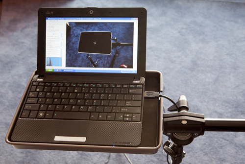 Notebook-Size Platform For Tethered Shooting
