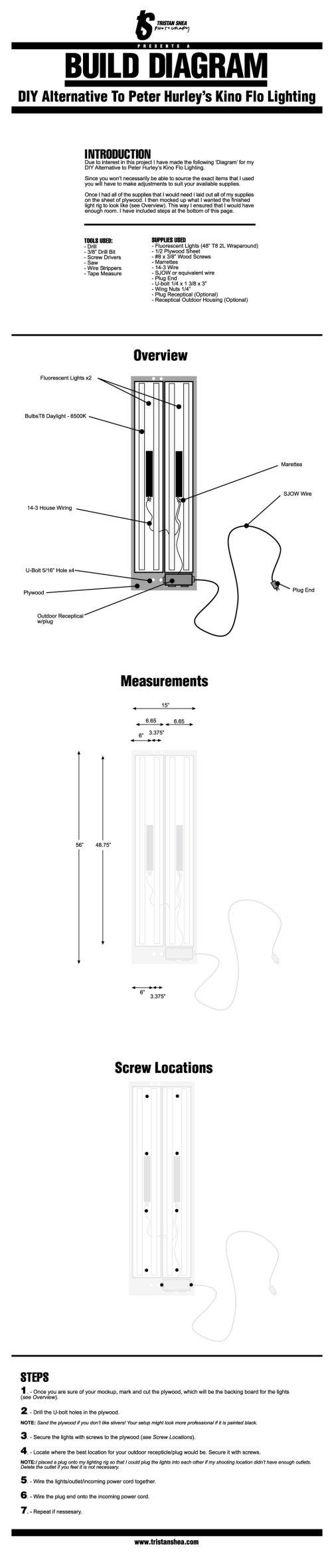 "Portable ""Kino Flo"" Setup Explained"