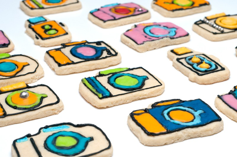 Camera Cookie Cutters