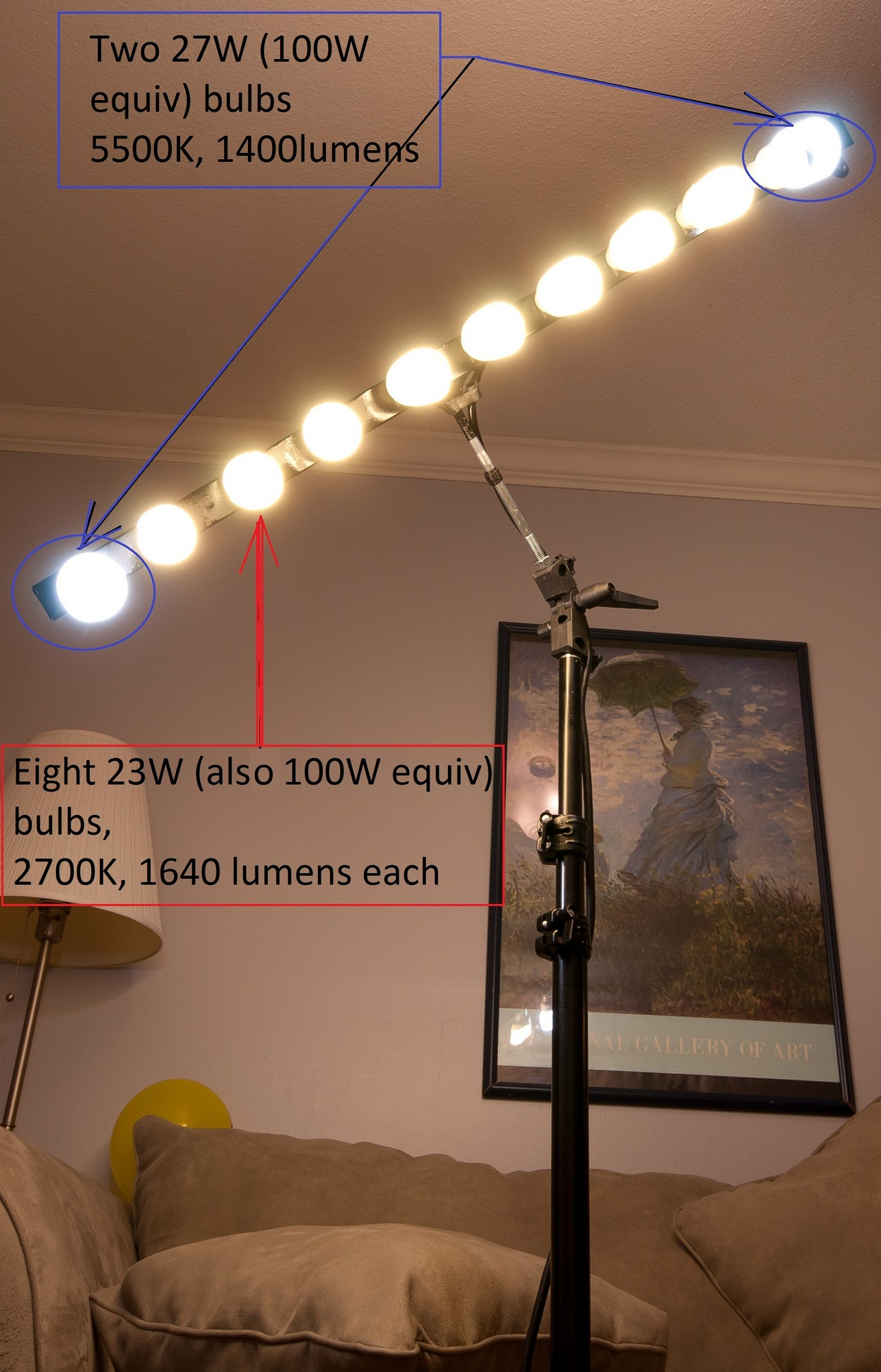 How To Build A Sweet And Simple Cfl Strip Light Diy