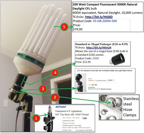 How To Build A Sweet And Simple CFL Strip Light