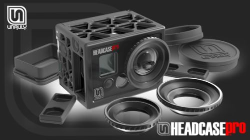 The Unruly Headcase Is Tough Enough To Match A GoPro