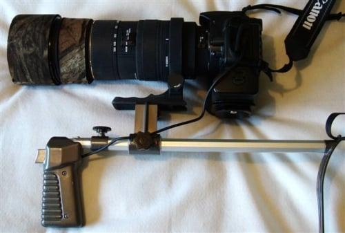 How to Convert A Shoulder Pod For Digital Cameras