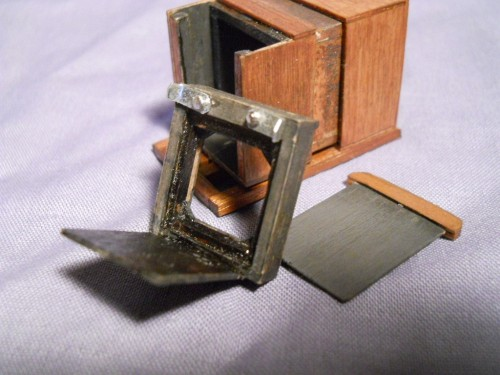 World's Smallest WetPlate Collodion Camera
