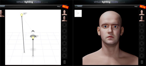 Virtual Lighting Studio