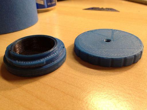 3d printed pinhole lens