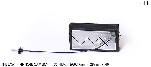 the JAW - pinhole camera (backside)