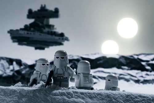 The Arrival of a Star Destroyer