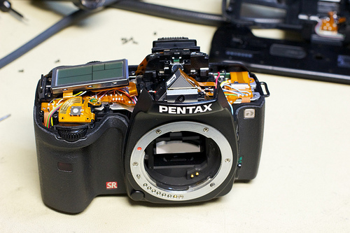 Converting A Pentax K10D To IR Photography