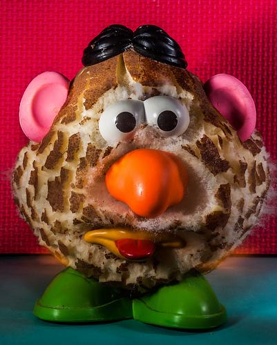 Mr. Potato Dead