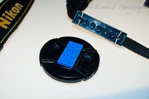 Use Lego To Keep Your Lens Cap Safe