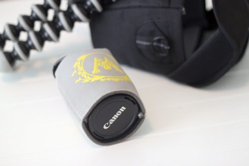 Protect Traveling Lenses With A Beer Cozy