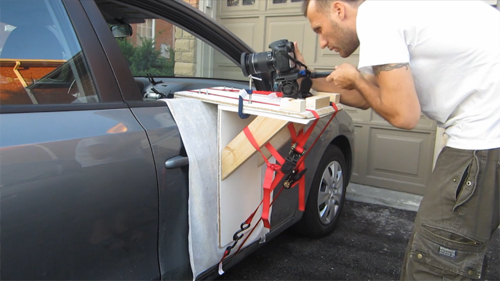 How To Build A Through-The-Window Camera Car Mount