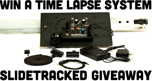 Win A SlideTracked Time Lapse System