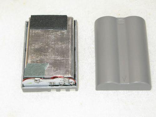 Inside of DSLR Camera Battery