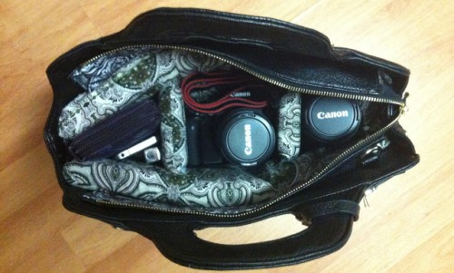 Fashionable Diy Camera Bag