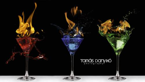 How To Photograph The Perfect Fire And Ice Cocktail