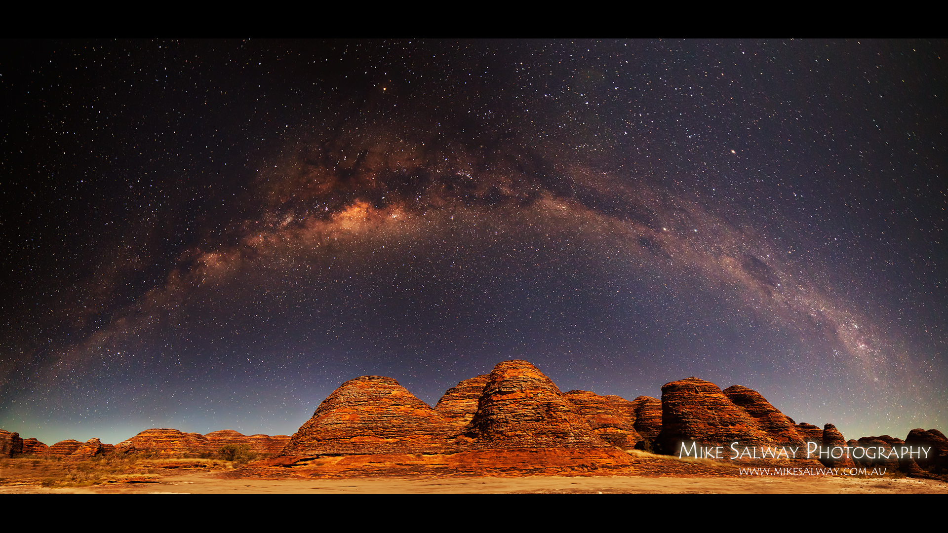 How The Panorama Of Arching Milky Way over the Bungle