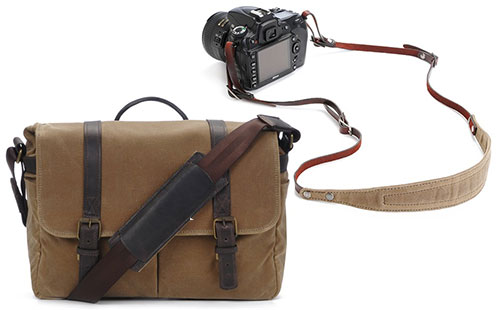 Win A Brixton Messenger Bag and a Lima Strap From ONA