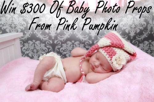 Win $300 of Baby Props from Pink Pumpkin Crochet