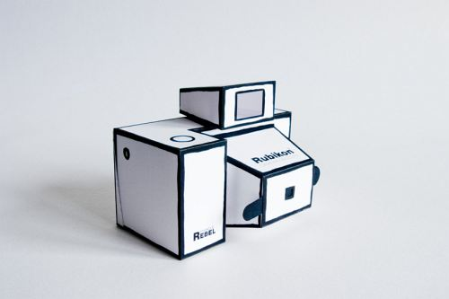 The Rubikon 2 Is The Cutest Pinhole I The World - And It Only Takes Paper To Make