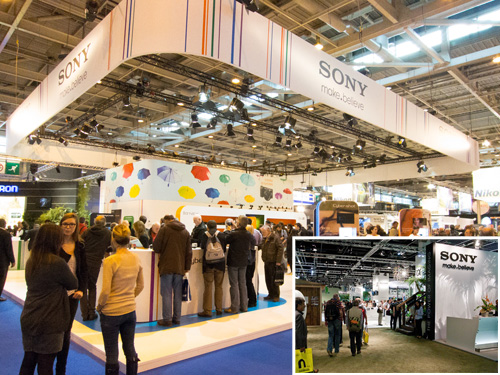 Trade Show Booths From Smaller Shows