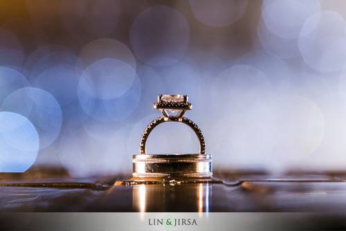 How To Perfectly Align Wedding Rings DIY Photography