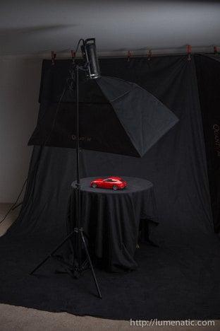 Ferrari FF shoot - Setup 1